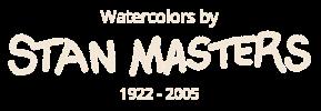 Stan Masters Watercolors Logo